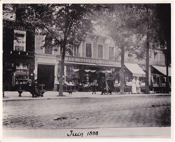 P5 paris 14° galeries d'orléans 1898