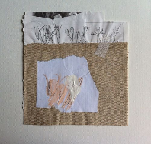 Toile libre, collage