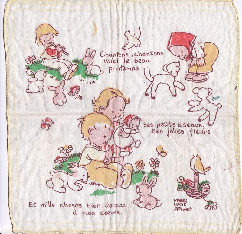 Mouchoir doux enfance mh
